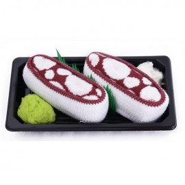 Skarpetki Sushi Socks Box - 1 para - Octopus Bordo